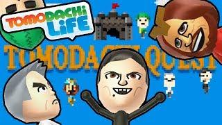 Tomodachi Life 3DS Adventure Quest, Robo Chun-Li, Goofy BBQ Gameplay Walkthrough PART 11 Nintendo