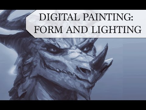 DIGITAL PAINTING PROCESS: FORM AND LIGHTING