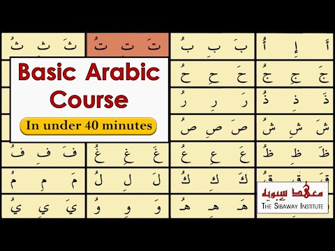 How to read Arabic script - Introductory Arabic