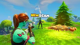 1% of Players Know This SCAM! Insane Scammer Gets Scammed In Fortnite Save The World