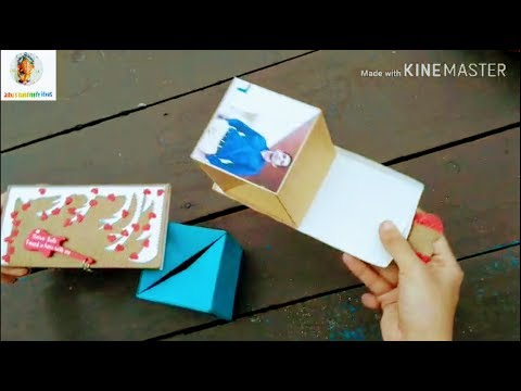 DIY surprise Box ❤️/Handmade Card/ How to make surprise Box