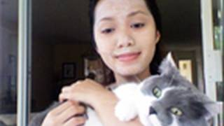 kitty litter facial mask  deep cleansing