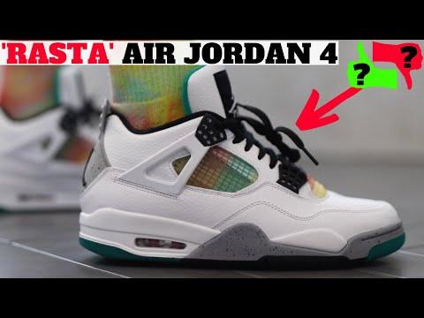 AIR JORDAN 4 'RASTA' Review + On Feet