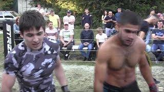 РУКОПАШНИК против Крепкого боксера !! Отличный Бой !!!