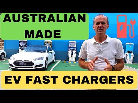 AUSTRALIAN MADE ULTRA FAST EV CHARGERS - TRITIUM TO THE WORLD OF ELECTRIC CARS