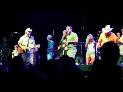 Wally Kurth at ZooGrass with Marshall Tucker Band