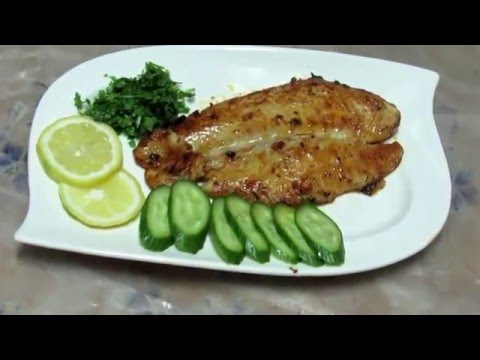 Delicious Pan Grilled Fish Homemade