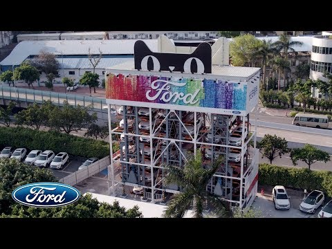 Ford and Alibaba Create Car Vending Machine (Chinese)