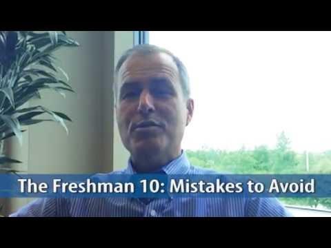 SaveItUp Moment - The Freshman 10: Mistakes to Avoid