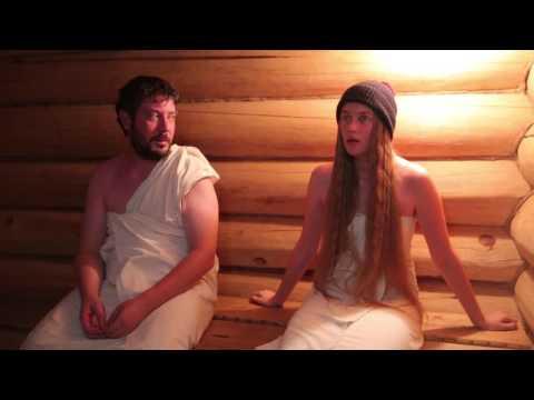 Видео прикол: Подруги любят шутить в бане