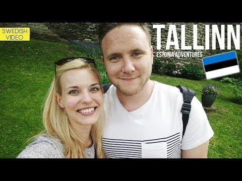 VLOGG: Estlandsäventyret börjar!