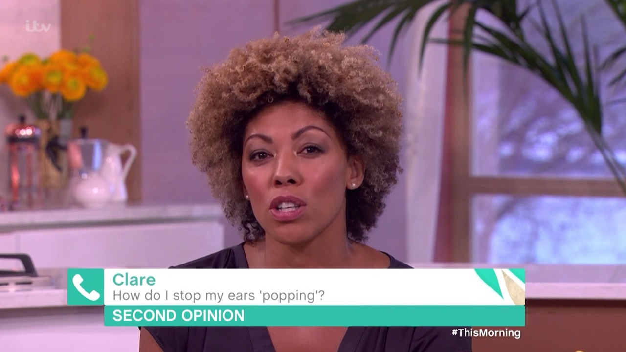 How Do I Stop My Ears Popping? | This Morning - YouTube