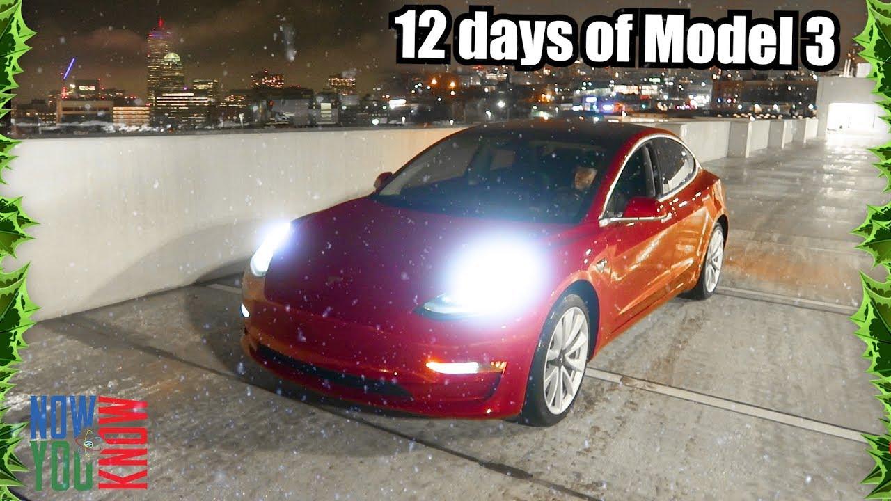 LED Lights - 12 days of Model 3!