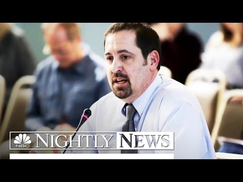 Flint Water Crisis: Criminal Charges Filed Against Three Officials   NBC Nightly News