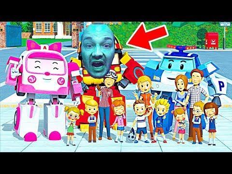 Робокар Поли и его друзья - детские игры новые серии. НеПоСеДа