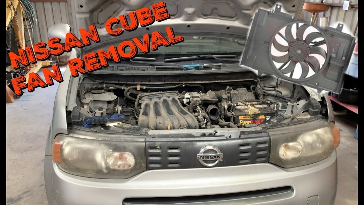 2009-2014 Nissan Cube Radiator Fan - Cooling Fan Replacement on toyota tacoma headlight wiring diagram, dodge caliber headlight wiring diagram, dodge ram 3500 headlight wiring diagram, mazda 6 headlight wiring diagram,