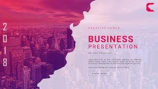 How To Design a Super Creative & Unique Business Slide in Microsoft Office 365 PowerPoint PPT