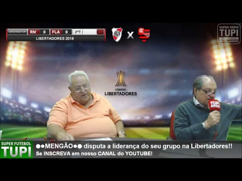 River Plate 0 x 0 Flamengo - 6ª Rodada - Libertadores - 23/05/2018