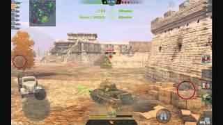 WoT Blitz 10 Random Battles In T43
