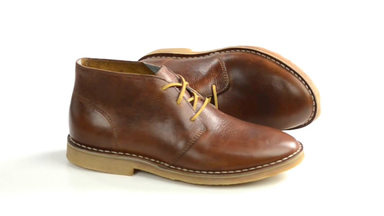SeaVees 12/67 3-Eye Chukka Boots - Leather (For Men) - YouTube