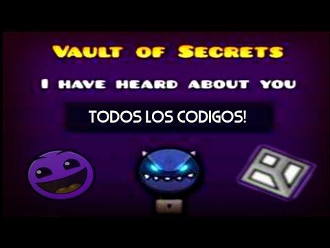 Geometry dash world vault of secrets all codes for Vault of secrets