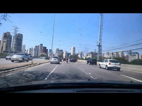 Car driving in São Paulo Brazil | Punjabi | 20170912