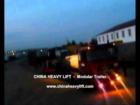 CHINA HEAVY LIFT Modular Trailer After sales service in Georgia (hydraulic multi axle) 22