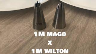 Demonstração de bicos 1M mago x 1M Wilton thumbnail