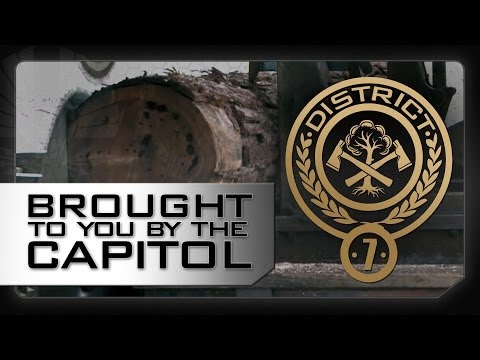 DISTRICT 7 - A Message From The Capitol - The Hunger Games: Catching Fire (2013)