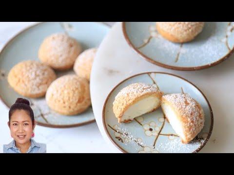 Choux  /Choux au Craquelin / Choux Cream / French Crunchy Cream Puff / Recipe