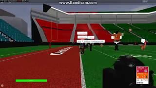 Roblox CFA: East Title Game Ohio State vs Miami Hurricanes