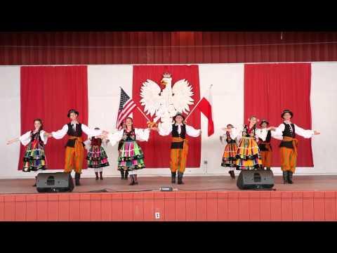 Polish American Folk Dance Company in Pensylvanii  `Szkice`