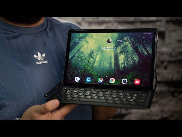 Samsung Tab S4   هل التابلت يغني عن اللابتوب؟