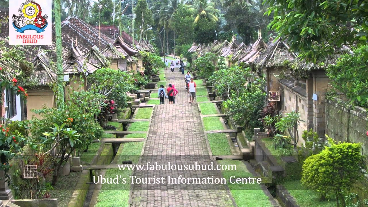 ubud tourism center - fabulous ubud - youtube