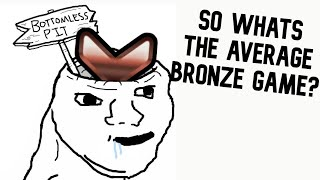 THERES NO WAY I LOST A GAME IN BRONZE... - OVERWATCH