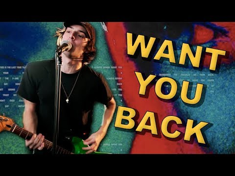 """5 Seconds of Summer """"Want You Back"""" (Music Video - Pop Punk Cover)"""
