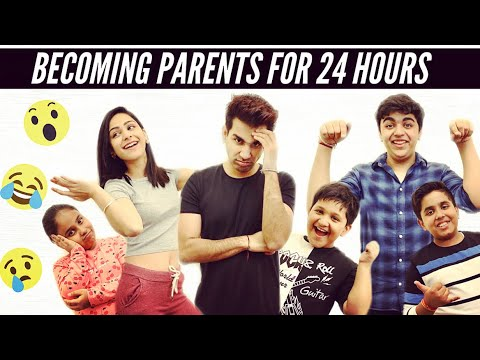 BECOMING PARENTS FOR 24 HOURS | Rimorav Vlogs - YouTube