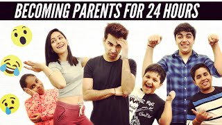BECOMING PARENTS FOR 24 HOURS | Rimorav Vlogs