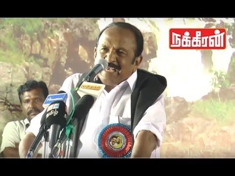 Vaiko about Cauvery | Narendra Modi is the reason !