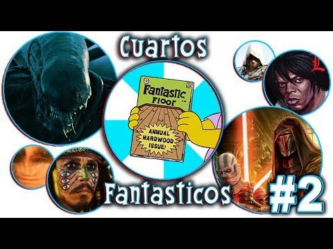 Cuartos Fantasticos 🔴 Alien | Star Wars Legends | Piratas del Caribe 🔴  Podcast 2
