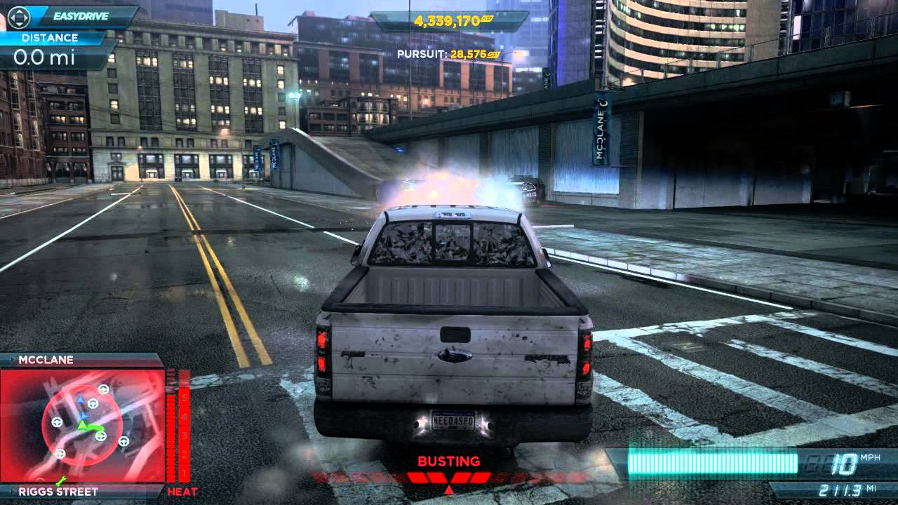 Nfs Most Wanted 2012 Getting To Heat Level 6 And Escape