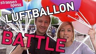 Luftballon -Battle - PRANK mit Susanka und Tobi Kämmerer