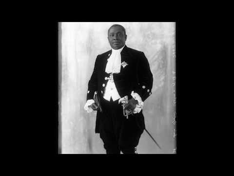 Voice of Nana Ofori Atta 1, June 1928, in London, after he was knighted English
