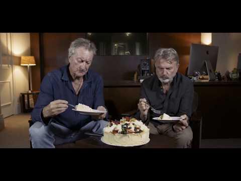 Sam Neil & Bryan Brown behind the scenes
