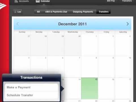 Bank of America iPad App - Barlow Research Product Review