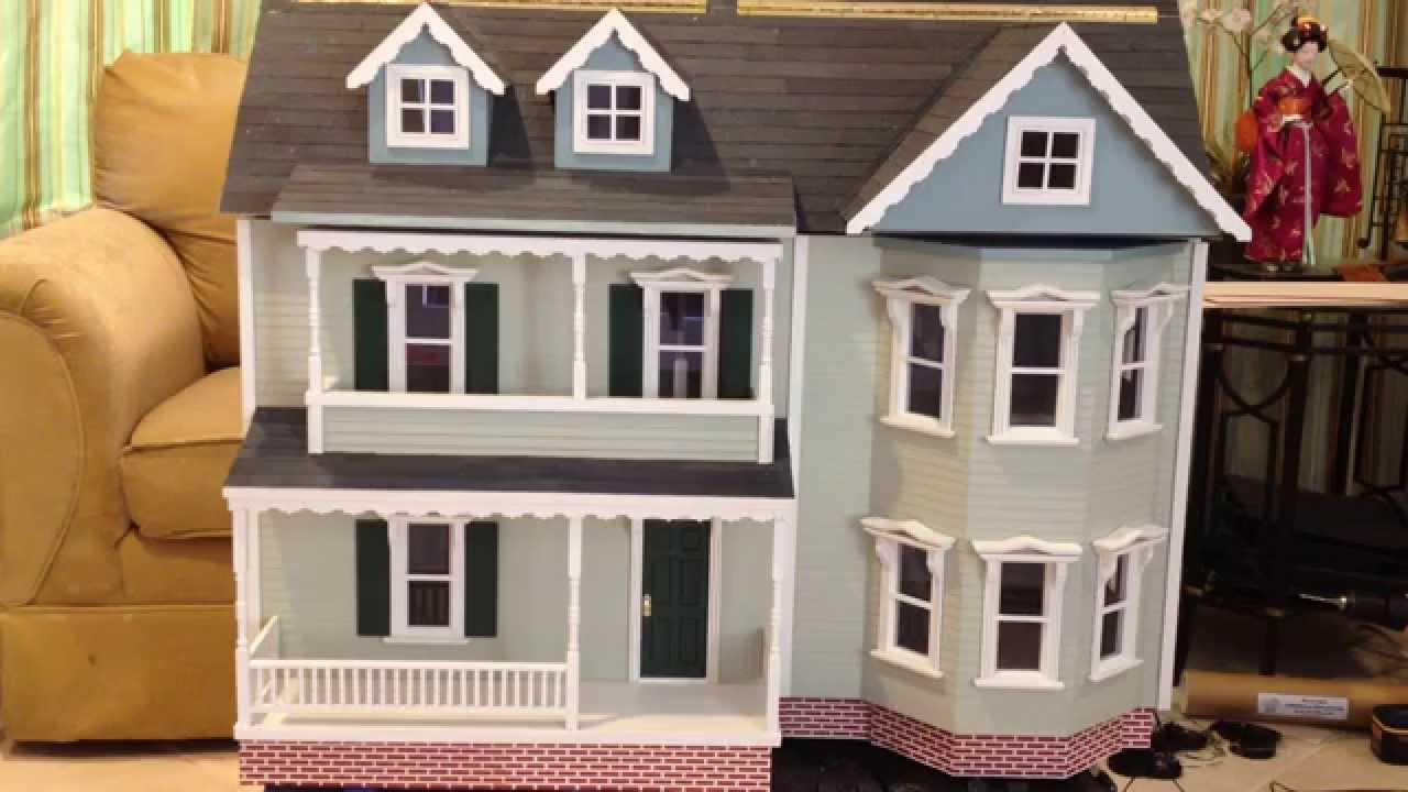 Melissa and doug katherine dollhouse kit completed build - When building a house ...