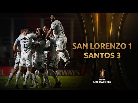San Lorenzo Santos Goals And Highlights