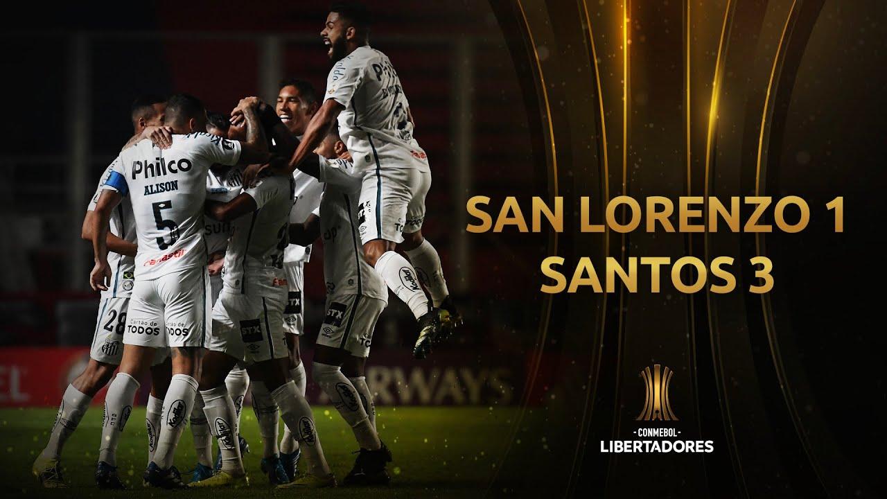 San Lorenzo vs. Santos [1-3] | RESUMEN | Fase 3 | IDA | CONMEBOL Libertadores
