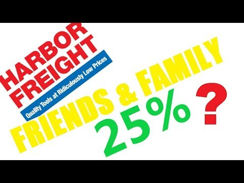 Harbor Freight EXCLUSIVE 25% Coupon (And Sale)