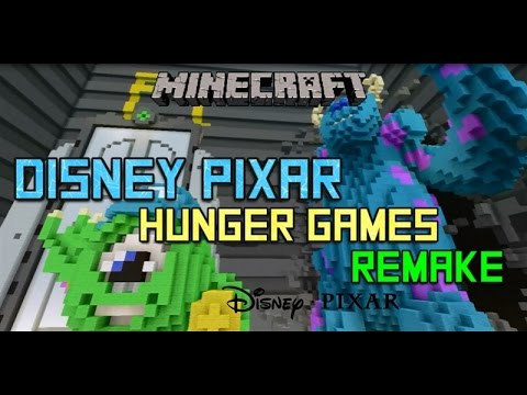 Minecraft Ps Disney Pixar Hunger Games Download YouTube - Hunger games mapped on us